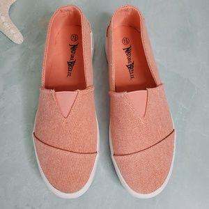 Nature Breeze Shoes - NEW Nature Breeze Blush Slip On Sneakers